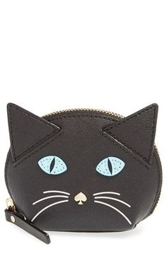 kate spade new york 'cat's meow' cat coin purse available at #Nordstrom