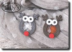 Tally's Soutache Pendant, Soutache Jewelry, Ring Necklace, Washer Necklace, Owl Jewelry, Shibori, Beaded Embroidery, Couture, Jewerly