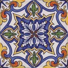 ASK 2110 Portuguese hand painted tiles Tile Art, Mosaic Tiles, Tuile, Portuguese Tiles, Hand Painted, Painted Tiles, Glazes For Pottery, Decorative Tile, Artisanal