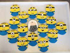 minion sugar cookies - Google Search
