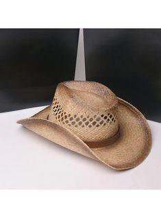 eaf1e77c31bdd2 VERYVOGA Men's Hottest Salty Straw Straw Hats/Cowboy Hats/Kentucky Derby  Hats