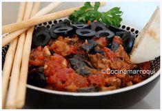 Nueva Cocina Marroqui: Zaaluk o Caviar de Berenjenas.