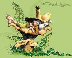 Le grand livre des korrigans de Pascal Moguйrou