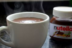 Chocolate Quente de Nutella