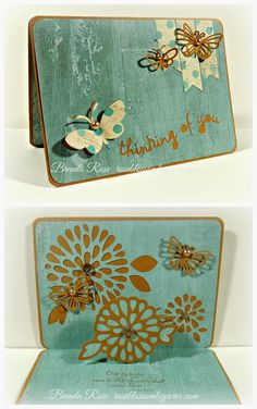 Rose Blossom Legacies: Thinking of You - Artfully Sent, Seaside, Kraft
