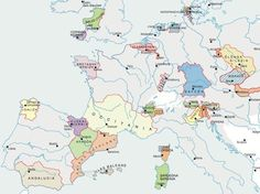 What Europe would look like if all the separatist movements succeeded.