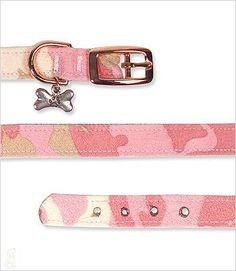 Light Pink Camo Collar