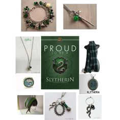 """""""Slytherin- HP"""" by three-doors-down on Polyvore"""