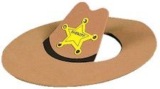 COWBOY HAT CRAFT - Buy it or get some brown wrapping paper and go creative to make your own, but here's some fun to celebrate NATIONAL DAY OF THE COWBOY - a day to celebrate cowboys and America's ranch life.