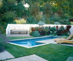 Guia de jardin. Blog de jardinería y plantas. Jardín en casa.: Un jardín sencillo y sostenible, para vivir