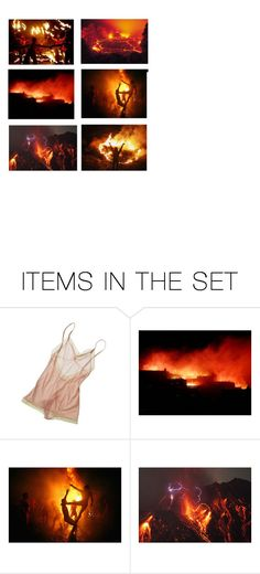 """""""Fire burns forests to the ground but then allows new growth to prosper in the ash"""" by nymphet-dream ❤ liked on Polyvore featuring art, Fire, flame and trees"""