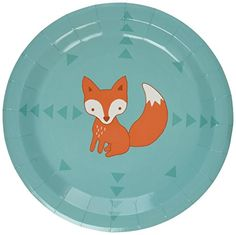 Ginger Ray Woodland Friends Fox Pattern Paper Party Plate... http://www.amazon.com/dp/B00M38ZS3Q/ref=cm_sw_r_pi_dp_87npxb0BYTPA4
