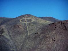 Geoglifos de Pintados, Chile.