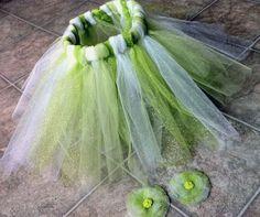 Tinkerbell Kostüm aus Tüll selber machen