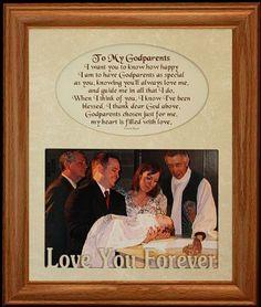 Godparent Gifts, Godchild, Godparent Ideas, Text Frame, Name Frame, Baby Baptism, Christening Gifts, Baptism Party, Baptism Photos