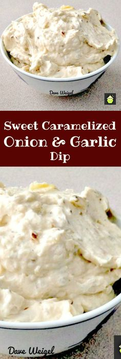 Sweet Caramelized Onion and Garlic Dip is a quick and easy recipe to make, full…