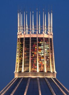 Liverpool RC Cathedral spire