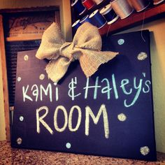 Dorm room DIY Chalkboard-