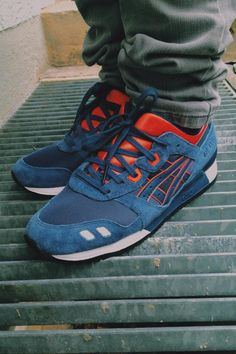 "34db746afba4 sweetsoles  "" Asics Gel Lyte III - Navy Orange (by Sandro Saint)"