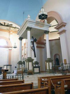 Baldacchino and Altar  St. Margaret Mary Church  Bullhead City, Arizona