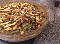 Not Your Momma's Green Bean Casserole- A delicious, healthy version