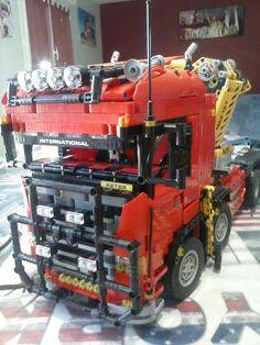 Lego 8258 v8 scania
