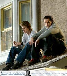 Garrett Hedlund and Mark Wahlberg - Four Brothers