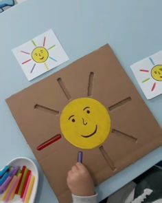 Motor Skills Activities, Preschool Learning Activities, Infant Activities, Preschool Activities, Art For Kids, Crafts For Kids, Kids Education, Montessori Preschool, Montessori Elementary