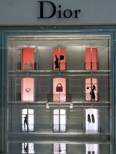 Dior departments, pinned by Ton van der Veer