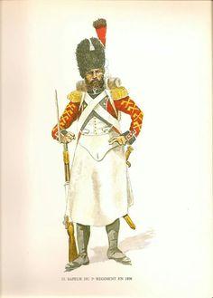 Zappatore del 3 rgt. fanteria della confederazione elvetica