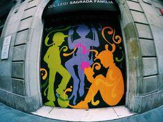 The Gothic Quarter Barcelona Street, Superhero Logos, Musicians, Stencils, Graffiti, Street Art, Gothic, Sagrada Familia, Goth