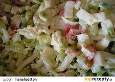 Vitamínová bomba recept - TopRecepty.cz Pasta Salad, Potato Salad, Vegetarian Recipes, Cabbage, Salads, Potatoes, Vegetables, Ethnic Recipes, Food