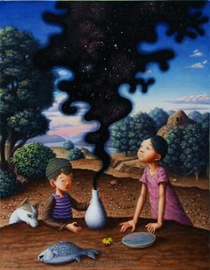 The Universe in a Head by Shinya Okayama.