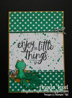Angela's PaperArts: Love You Lots and Layering Love stamp sets,  In-Color Emerald Envy