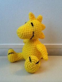 Crochet Amigurumi Peanuts Woodstock Doll by ShimmereeCreations on Etsy