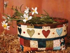 """The Wooden Bear's """"Tweet Others"""" book -- Fabric Basket pattern"""