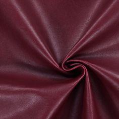 Nappalederimitat 4 - Polyurethan - Polyester - bordeauxrot