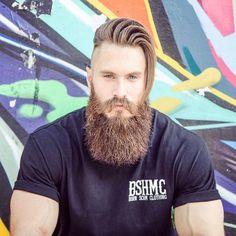 beards carefully curated — Brendan