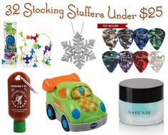 32 Stocking Stuffers Under $25 Unique ideas for both kid and adult stockings!