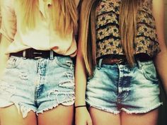 I'm seriously OBSESSED with high-waisted denim, confused why I don't have any yet..