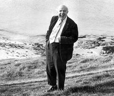 John Betjeman (1906-1984) English writer, broadcaster, and Poet Laureate of the United Kingdom from 1972 until his death.
