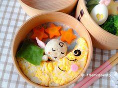 Little Miss Bento  シャリーのかわいいキャラベン: Baby Angel Bento 赤ちゃん天使のキャラベン