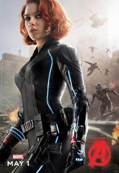 Avengers – L'Ère d'Ultron : Un poster pour Black Widow, Thor et Nick Fury