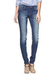 55aae852e051 Always Skinny Jeans - stripped tee, scarf and bensimon shoes Gap Jeans, Blue  Jeans