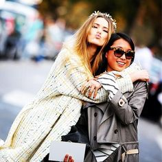 Friendship #emmetrend #fashionista #streetstyle #streetlook #model #friends #love #trend #style #coat #fashionweek #blogger