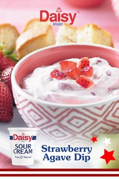 Want an appetizer that tastes like summer in a bowl? Try this easy dip made with purely delicious Daisy Sour Cream. Serve with fruit, pita wedges, or your favorite artisan bread.