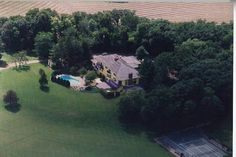 Prince's home in Chanhaussen, MN. It has been torn down.