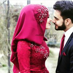 Cute Muslim Couples, Romantic Couples, Sequin Skirt, Photo And Video, Skirts, Instagram, Turkish Wedding, Dresses, Heart