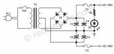 Simple Symmetrical MosFet Audio Amplifier - RED - Page175 Audio Amplifier, Simple, Projects, Red, Log Projects