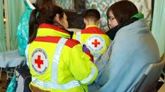 """The NHS disputes Red Cross claims of a """"humanitarian crisis"""" in its hospitals in England."""